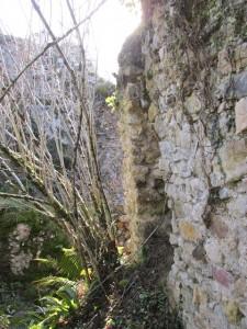 El único lienzo de muro que se conserva / Foto LVT