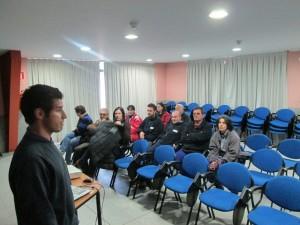 Un momento de la presentación de las tareas del Plan Actívate