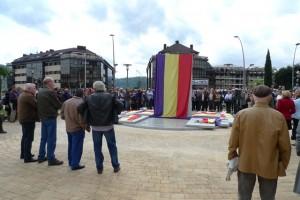Inauguración del monolito hace ya un año