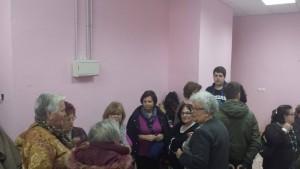 Mujeres en el acto organizado en Belmonte de Miranda