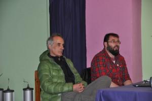 Alberto F. Gil junto a Pablo López (La Ponte) / Foto de Beatriz Álvarez