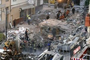 Un momento del rescate de los fallecidos / Foto de El Heraldo