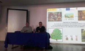 Manuel Calvo presentó el proyecto en Teverga