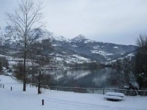El área de Valdemurio en una de las últimas nevadas / Foto Beatriz Álvarez