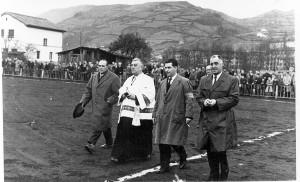 Bendición del campo de fútbol el 9 de diciembre de 1962 / Archivo de Valentín Álvarez