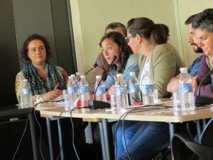 Elsa Suárez durante su intervención