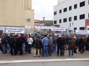 Una protesta de ganaderos extremeños / Foto de Navalmoral Hoy