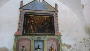 El retablo restaurado
