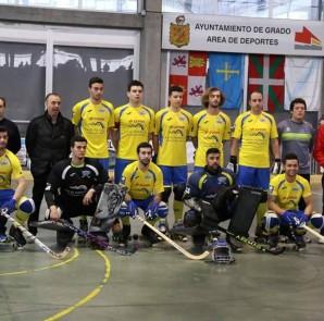 Formación masculina del Asturhockey