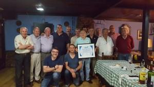 Cena homenaje a los premiados de la peña El Pîtu