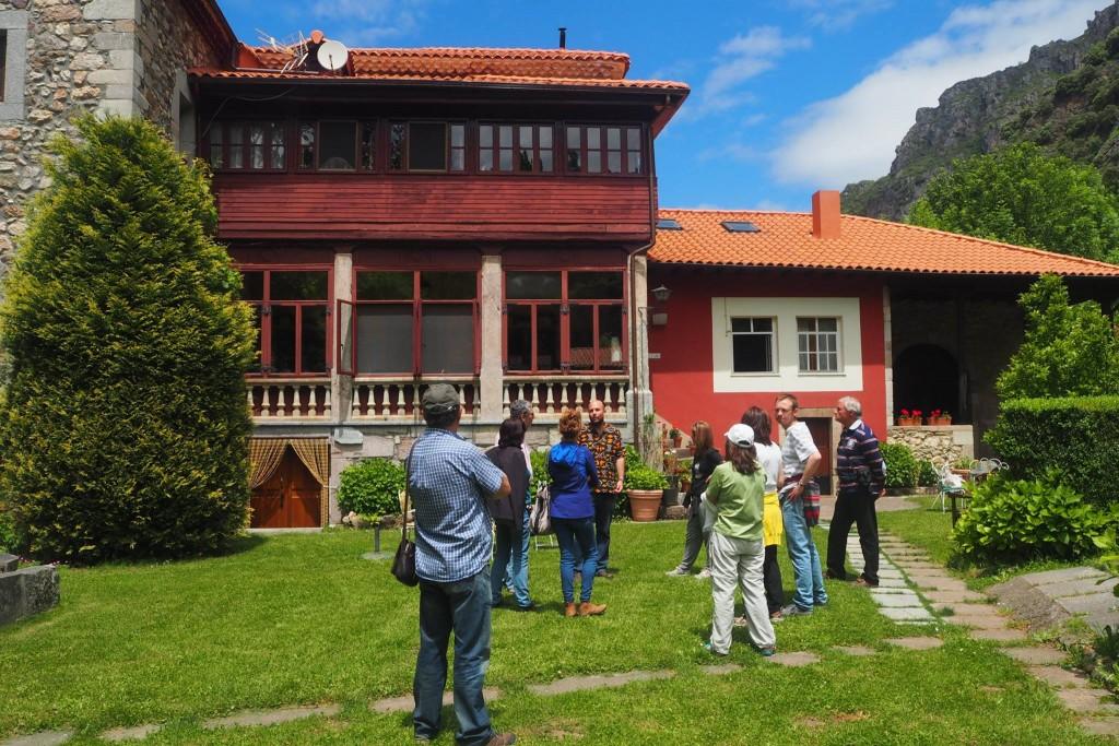 Visita a la casa natal de Flórez Estrada