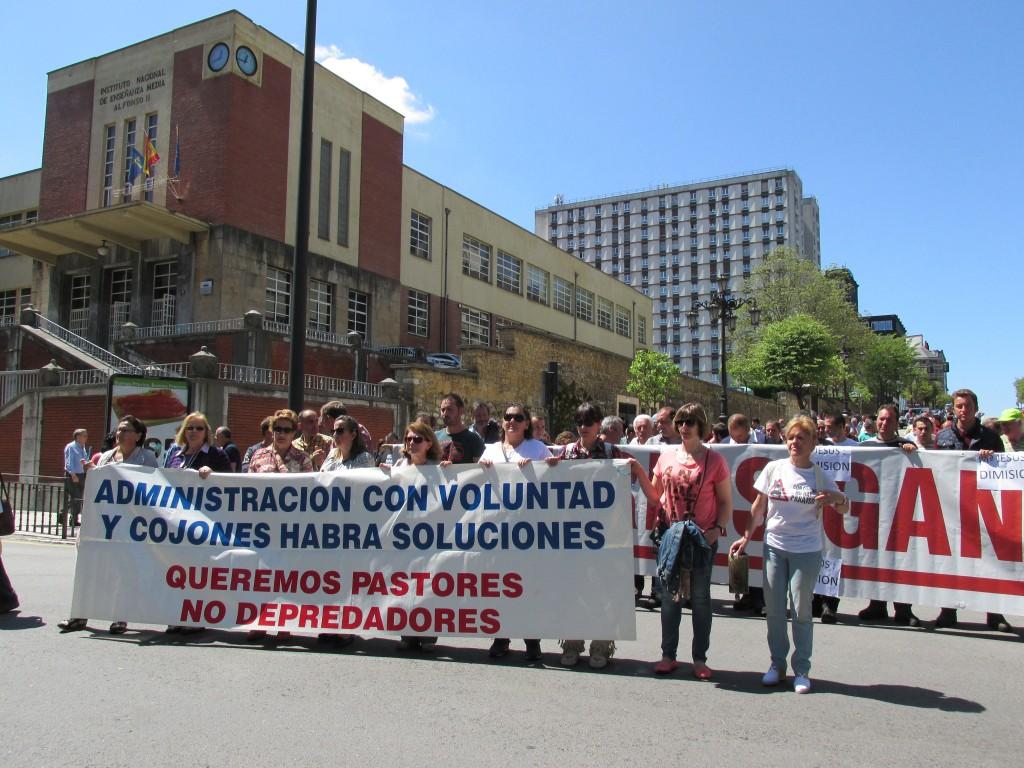 ganaderos protestas