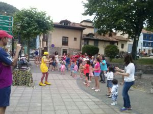 Una de las actividades infantiles del pasado año