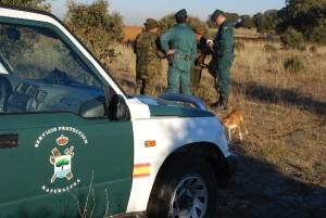 Una patrulla del Seprona / Foto de AUGC