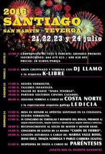 fiestas santiago teverga