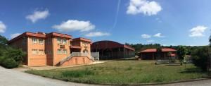 El colegio público de Las Regueras