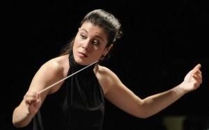 La directora de orquesta Virgina Martínez