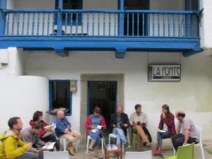 Una de las actividades de La Ponte en Villanueva en su antigua sede
