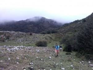 Un ensayo previo del recorrido (Foto Yeryta)