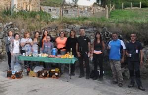 Voluntarios que participaron en la organización