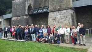 Participantes en la excursión