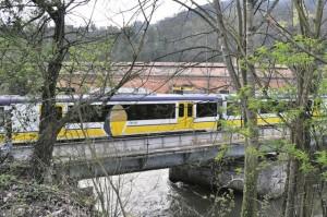El tren en la actualidad / Foto de Toño Huerta