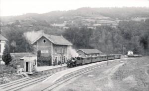 Antigua estación de Trubia